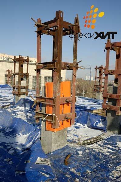 Прогрев бетонной колонны.jpg