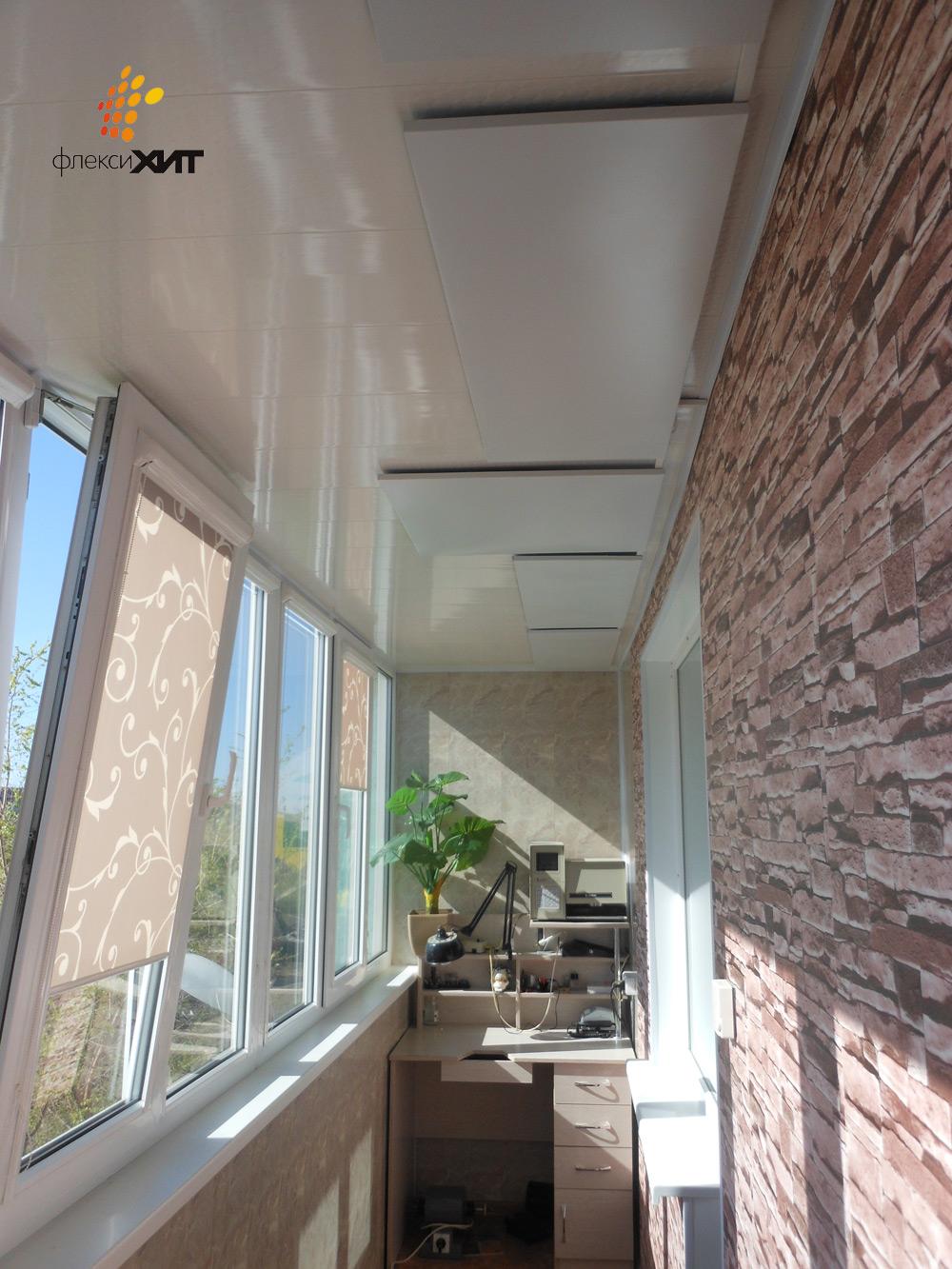 Пленочные инфракрасные потолочные нагреватели, инфракрасные .